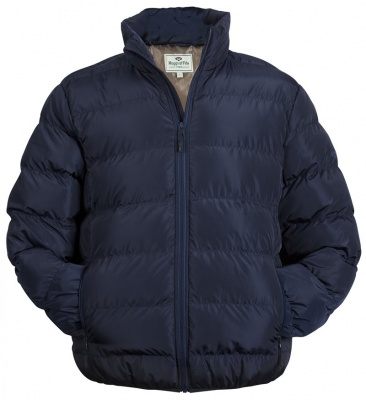 Hoggs of Fife Rex Quilted Jacket - Dark Navy