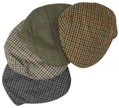 Hoggs of Fife Tweed Cap (Assorted)