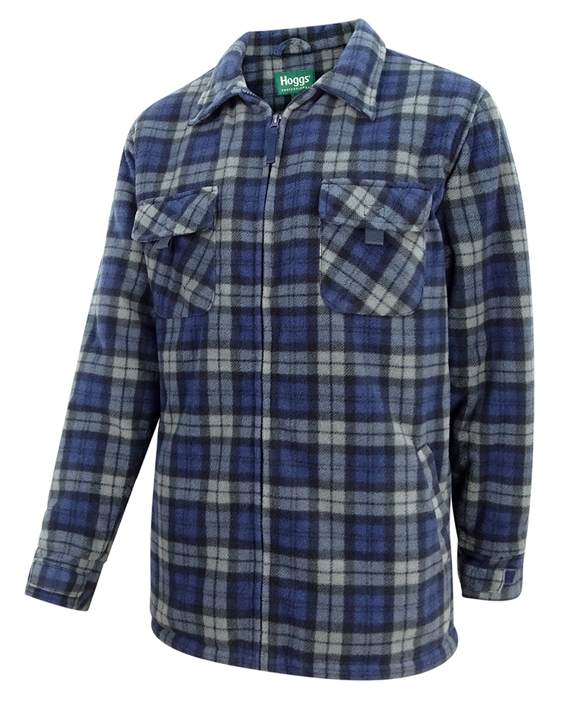 Hoggs Of Fife Caithness Polar Fleece Workshirt