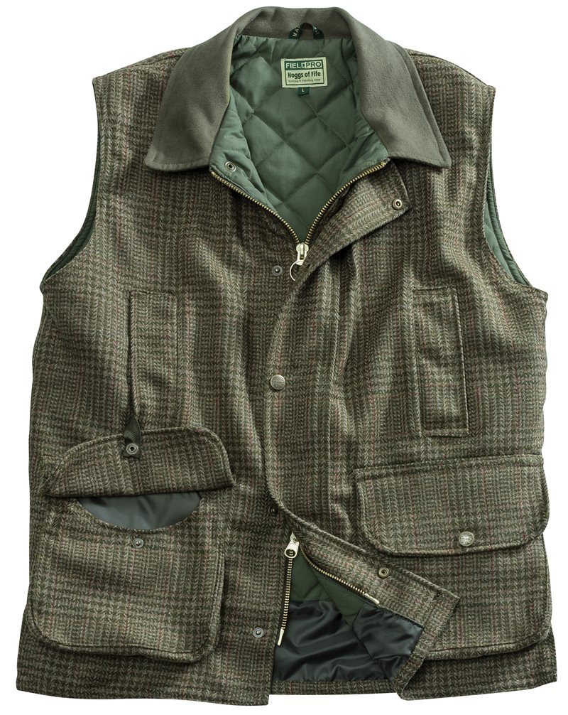 Hoggs of Fife - Invergarry Tweed Field Waistcoat