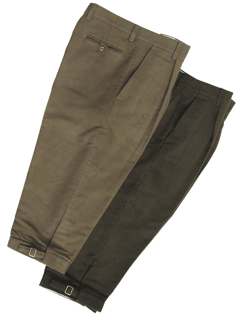 Hoggs of Fife - Moleskin Breeks Lovat
