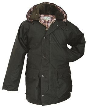 Hoggs of Fife Padded Waxed Jacket