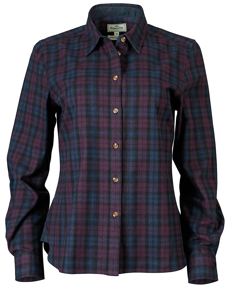 Hoggs Of Fife Ally Ladies Cotton Shirt