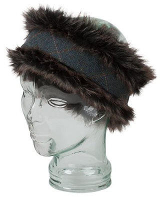 Hoggs of Fife Sherborne Faux Fur Lambswool Headband