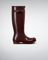 Hunter Womens Field Tall Gloss - Dulse
