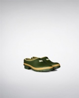 Hunter Womens Gardener Clogs - Vintage Green