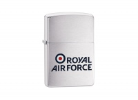 Zippo Royal Air Force Brushed Chrome Regular Lighter