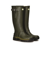 Hunter Mens Balmoral Bamboo Carbon Wellington Boots