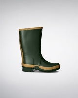 Hunter Mens Gardener Wellington Boots - Vintage Green