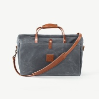 Bradley Mountain Courier Briefcase - Charcoal