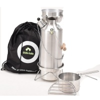 Ghillie Kettle Adventurer and Cook Kit - Aluminium