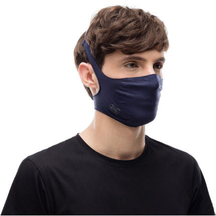 Buff Filter Mask - Solid Night Blue