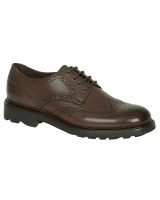 Hoggs Of Fife Gleneagles Country Brogue - Dark Brown