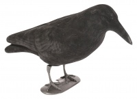 Jack Pyke Flocked Crow Full Body Decoy