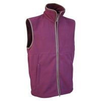 Jack Pyke Countryman Fleece Gilet - Burgundy