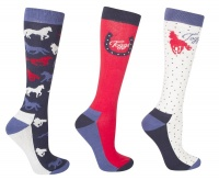 Toggi Odelia Ladies 3 Pack Socks