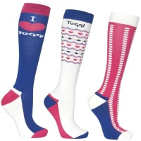 Toggi Horbury Ladies 3 Pack Socks