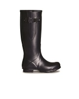 Hunter Womens Norris Field Side Adjustable Wellington Boots - Navy