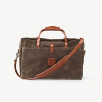 Bradley Mountain Courier Briefcase - Field Tan