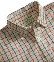 Hoggs of Fife Sunningdale Short Sleeve Cotton Shirt