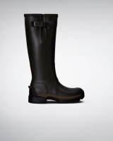 Hunter Womens Field Neoprene Adj Tall - Dark Olive