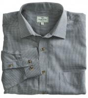 Hoggs of Fife Pure Cotton Pin Check Shirt