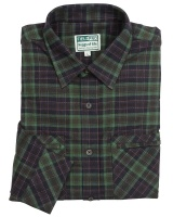 Hoggs Of Fife Arran Luxury Hunting Shirt Navy/Green