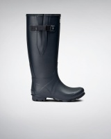 Hunter Womens Norris Wide Fit Boot - Navy