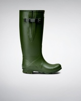Hunter Womens Norris Wide Fit Boot - Vintage Green