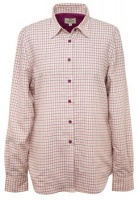 Hoggs of Fife Alba Ladies Jersey-Lined Country Shirt