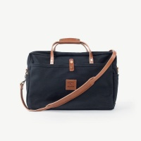 Bradley Mountain Courier Briefcase - Black
