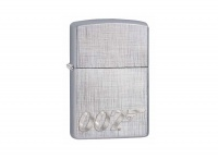 Zippo James Bond 007 Linen Weave Regular Lighter
