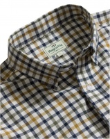 Hoggs of Fife Trevose Short-Sleeve Cotton Shirt