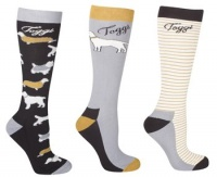 Toggi Raine Ladies 3 Pack Socks
