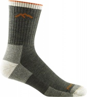 Darn Tough Hiker Micro Crew Midweight Hiking Sock - Olive - Men's