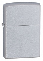 Zippo Satin Chrome Regular Lighter