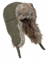 Hoggs of Fife Invergarry Tweed Trapper Hat