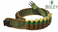 Bisley 12G Cartridge Belt Leather on Webbing Pockets