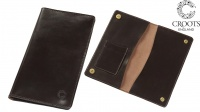 Croots Malton Bridle Leather Certificate Wallet