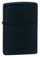 Zippo Black Matt Regular Lighter