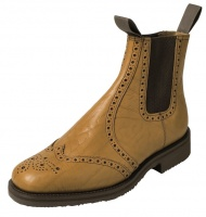 Hoggs of Fife Banbury Market Boot - Leather Sole