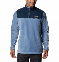 Columbia Men's Cottonwood Park Half Snap - Bluestone, College Navy