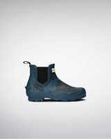 Hunter National Trust Print Norris Chelsea Boot - Dusk
