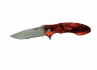 Whitby Lock Knife Orange Camo Handle