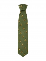 Hoggs of Fife Silk Country Tie (Mixed Birds)